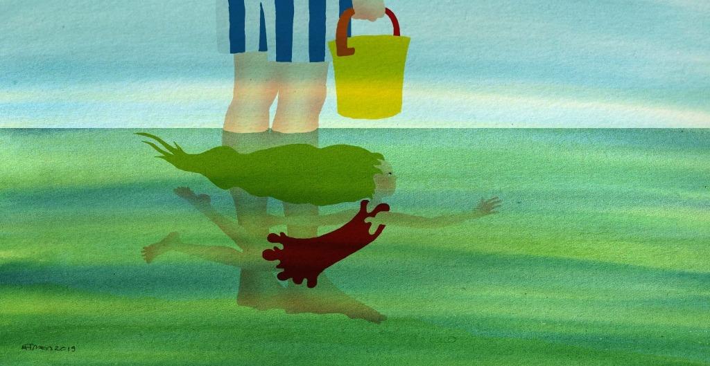 Ilustração Rafaela Mapril da Menina do Mar