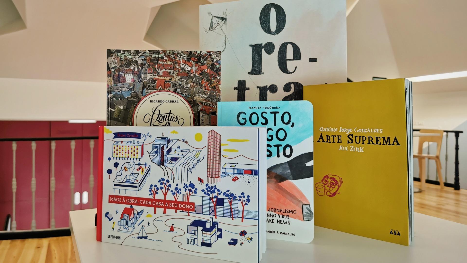 Os livros de António Jorge Gonçalves